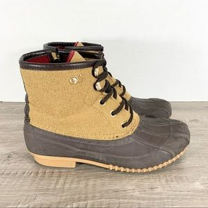 Tommy Hilfiger • Water Resistant Duck Boots